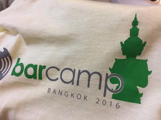 BarcampBKK2016-TShirt